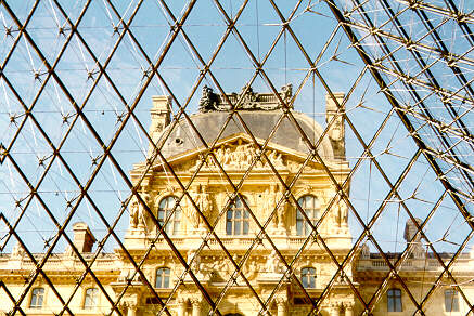 The Louvre pyramide