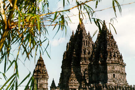 The Hindu temples of Prambanan